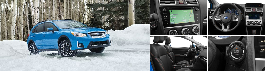 New 2016 Subaru Crosstrek Interior & Exterior Features
