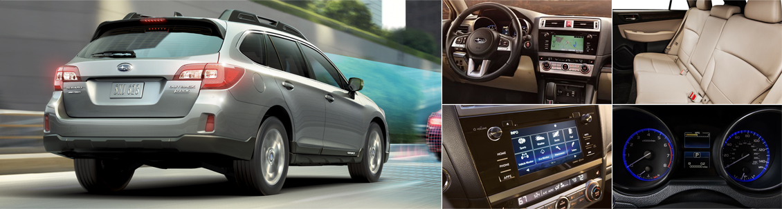 New 2016 Subaru Outback Interior & Exterior Features
