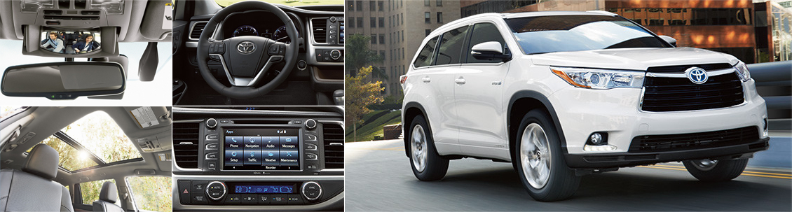 New 2016 Toyota Highlander Interior & Exterior Features