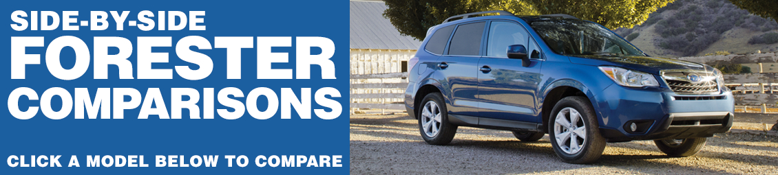 Compare 2016 Subaru Forester VS The Competition at Subaru Superstore