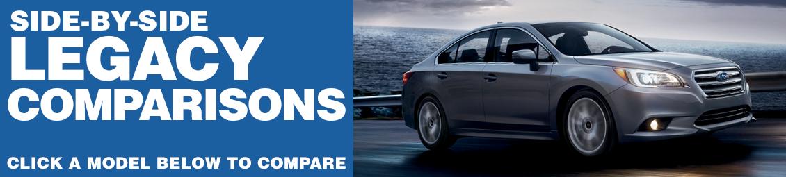 Compare 2016 Subaru Legacy VS The Competition at Subaru Superstore