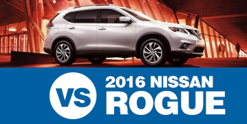 Click to Compare The 2016 Subaru Crosstrek & 2016 Nissan Rogue Models