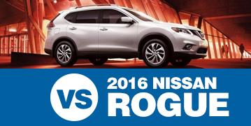 Click to Compare The 2016 Subaru Crosstrek & 2016 Nissan Rogue Models