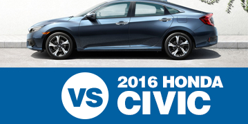 Click to Compare The 2016 Subaru Impreza & 2016 Honda Civic Models