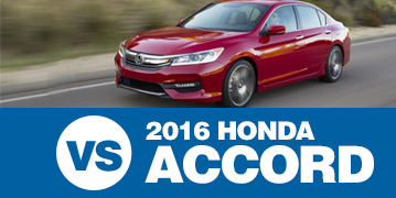 Click to Compare The 2016 Subaru Legacy & 2016 Honda Accord Models