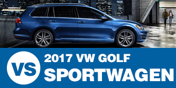 Click to Compare the 2017 Subaru Outback VS Volkswagen Golf SportWagen at Subaru Superstore