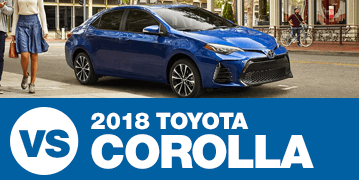 Click to view our 2018 Subaru Impreza vs 2018 Toyota Corolla comparison in Chandler, AZ