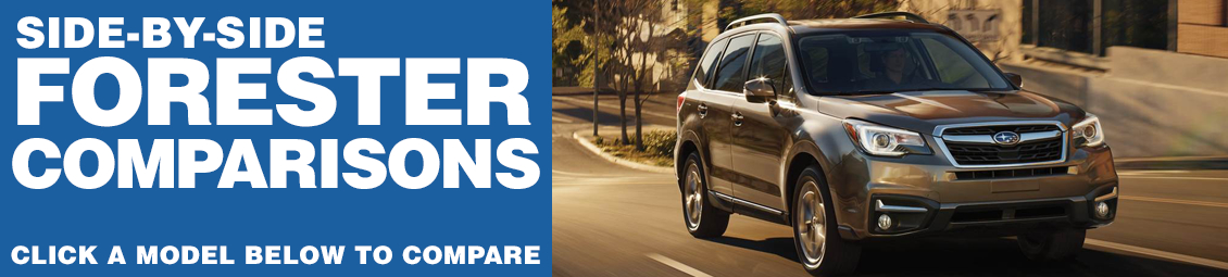 Compare 2017 Subaru Forester VS The Competition at Subaru Superstore