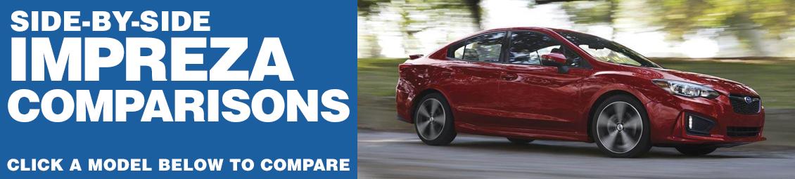 Compare 2017 Subaru Impreza VS The Competition at Subaru Superstore