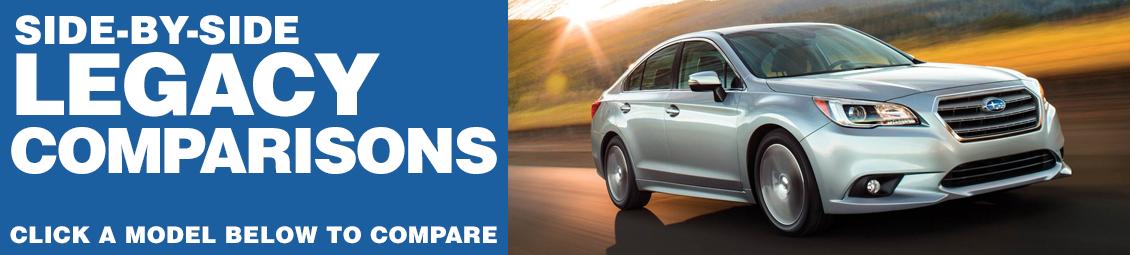 Compare 2017 Subaru Legacy VS The Competition at Subaru Superstore