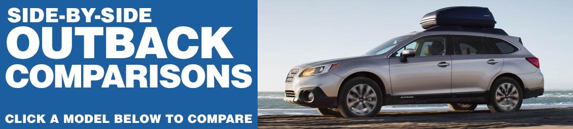 Compare 2017 Subaru Outback VS The Competition at Subaru Superstore