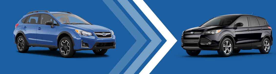 2016 Subaru Crosstrek vs 2016 Ford Escape Vehicle Comparison