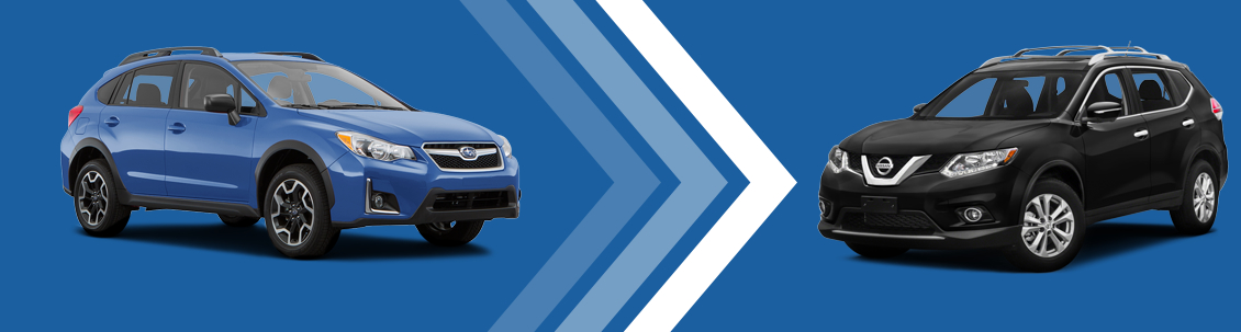 2016 Subaru Crosstrek vs 2016 Nissan Rogue Vehicle Comparison