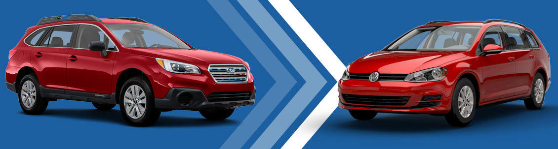 2017 Subaru Outback VS Volkswagen Golf SportWagen Model Comparison at Subaru Superstore