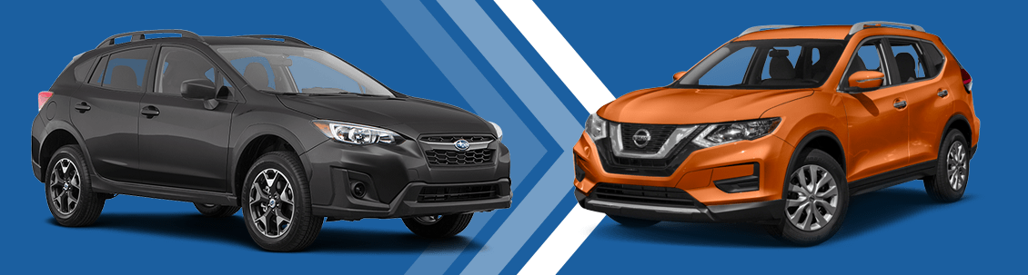 2018 Subaru Crosstrek vs 2018 Nissan Rogue Comparison