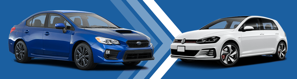 Wrx Vs Gti >> Compare 2018 Subaru Wrx Vs Volkswagen Golf Gti Sport Car Model