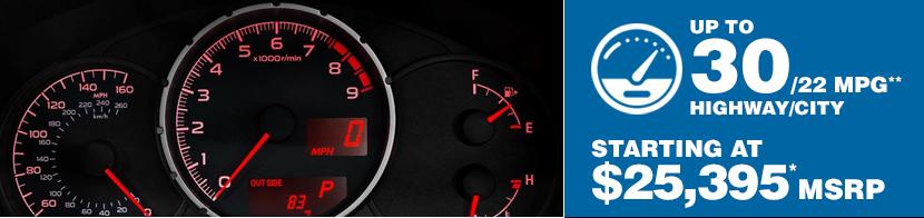 2016 Subaru BRZ Fuel Mileage