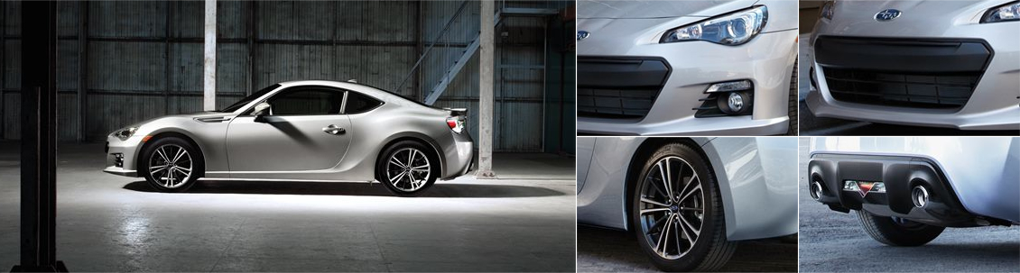 New 2016 Subaru BRZ Exterior Design