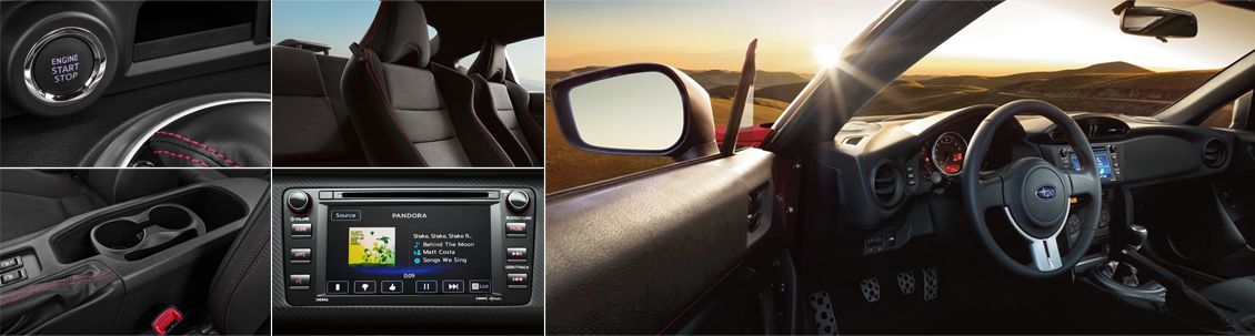 New 2016 Subaru BRZ Interior Style