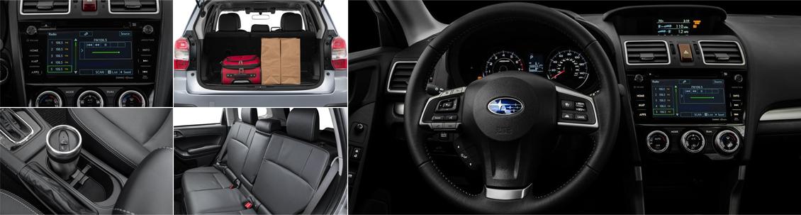 New 2016 Subaru Forester Interior Style