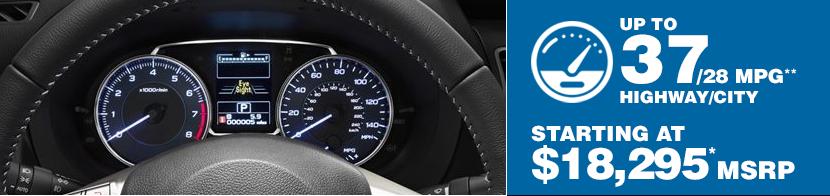 2016 Subaru Impreza Fuel Mileage
