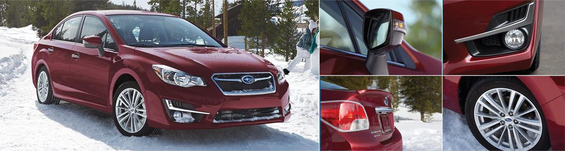 New 2016 Subaru Impreza Exterior Design