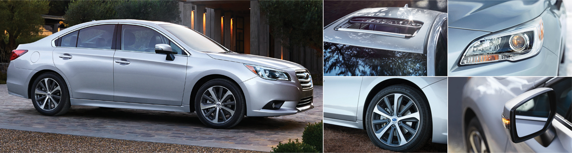 New 2016 Subaru Legacy Exterior Design