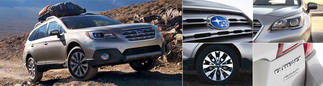 New 2016 Subaru Outback Exterior Design