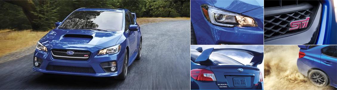 New 2016 Subaru WRX STI Exterior Design