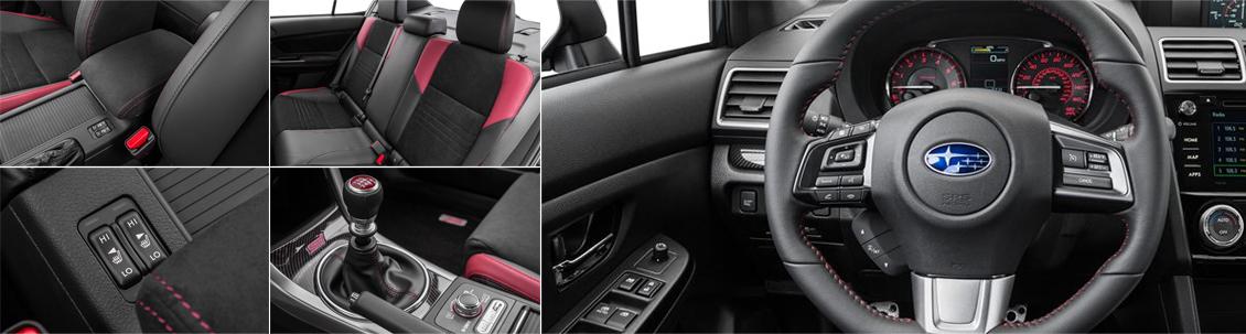 New 2016 Subaru WRX STI Interior Style