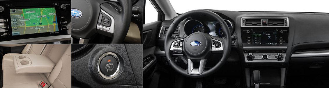 2017 Subaru Legacy Model Interior Styling and Features