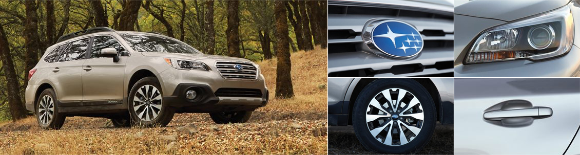 2017 Subaru Outback Model Exterior Styling and Features