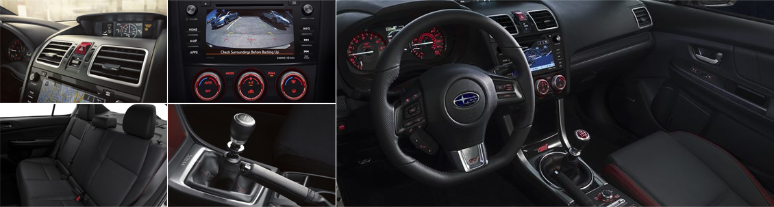 2017 Subaru WRX Model Interior Styling and Features