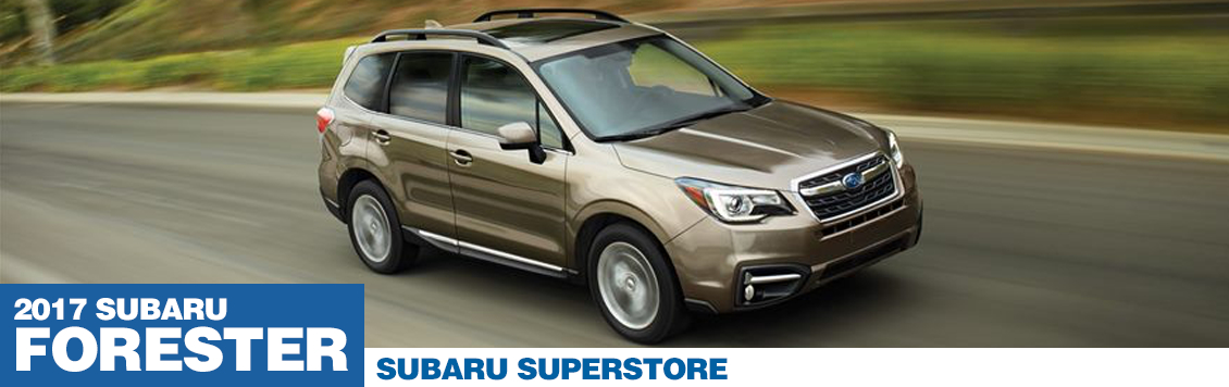 2017 Subaru Forester Model Information