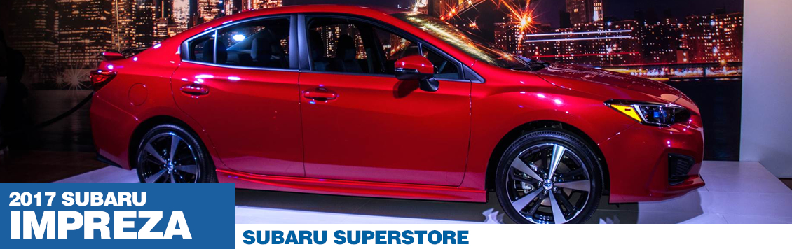 2017 Subaru Impreza Model Specifications and Information