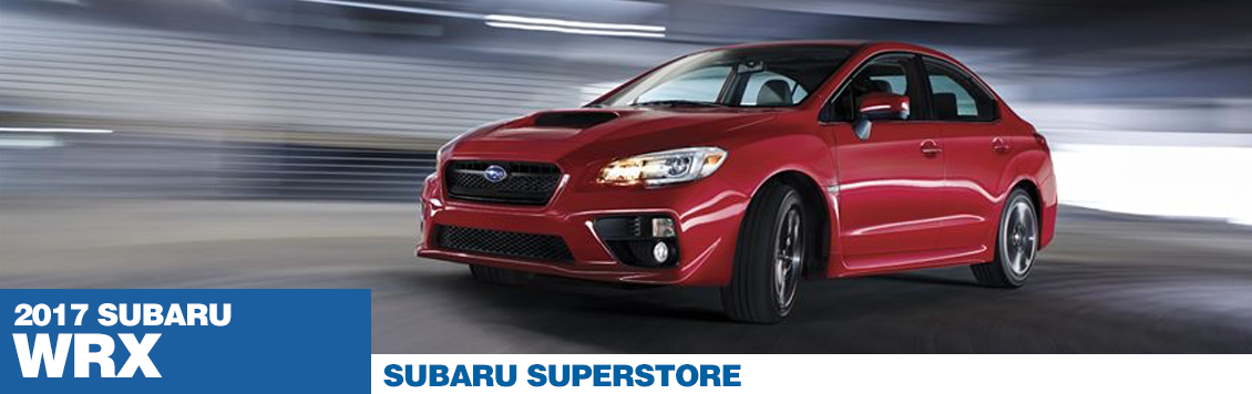 2017 Subaru WRX Model Information and Specs