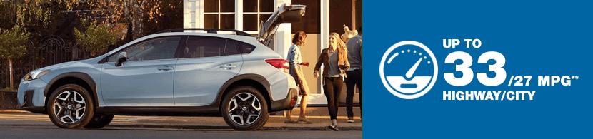 2018 Subaru Crosstrek Model MSRP and MPG