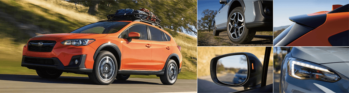 2018 Subaru Crosstrek Model Exterior Styling and Features
