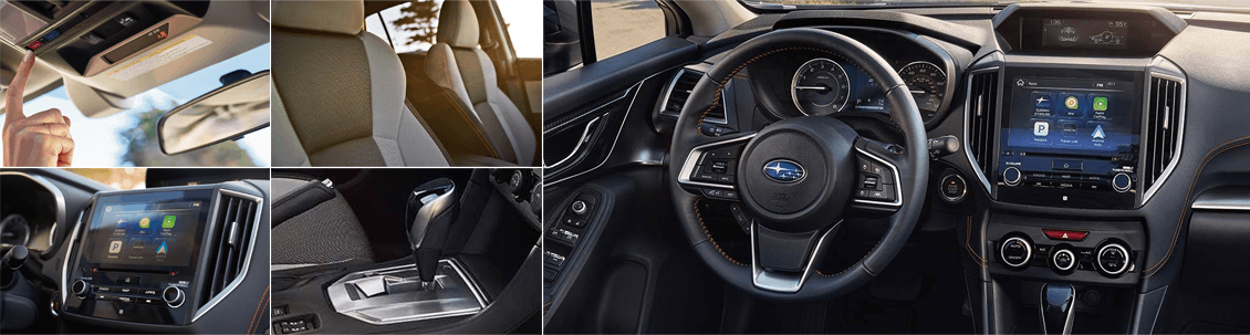 2018 Subaru Crosstrek Model Interior Styling and Features