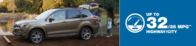 2018 Subaru Forester Model MSRP and MPG
