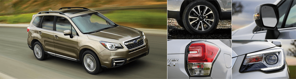 2018 Subaru Forester Model Exterior Styling and Features