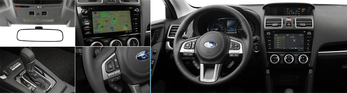 2018 Subaru Forester Model Interior Styling and Features