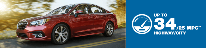 2018 Subaru Legacy Model MSRP and MPG