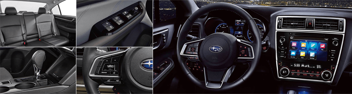 2018 Subaru Legacy Model Interior Styling and Features
