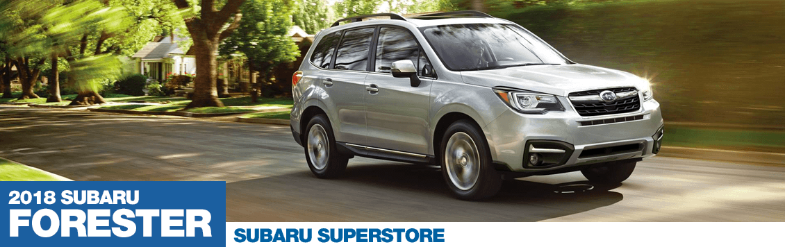 2018 Subaru Forester Model Specifications and Information