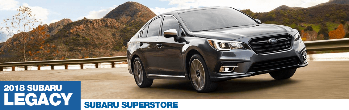 2018 Subaru Legacy Model Specifications and Information