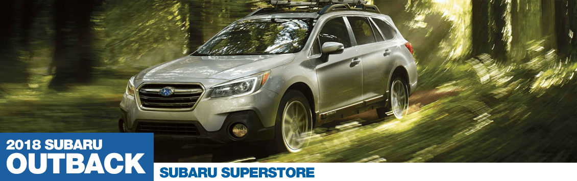 Research the 2018 Subaru Outback model at Subaru Superstore of Chandler