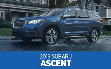 Browse our 2019 Ascent model information at Subaru Superstore of Chandler