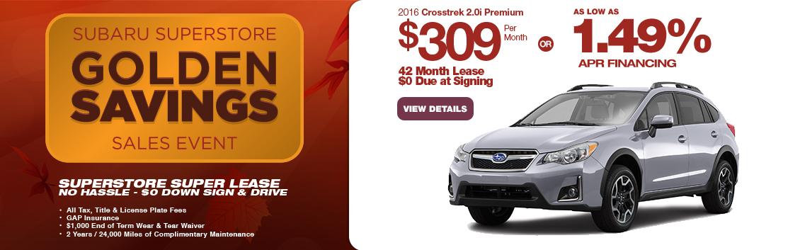 Save in the Phoenix, AZ area with this new Subaru Crosstrek special