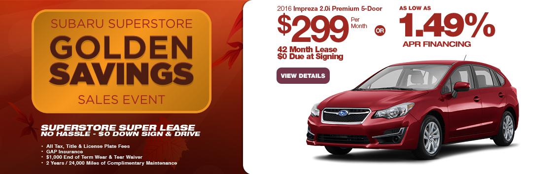Save in the Phoenix, AZ area with this new Subaru Impreza 5-Door special